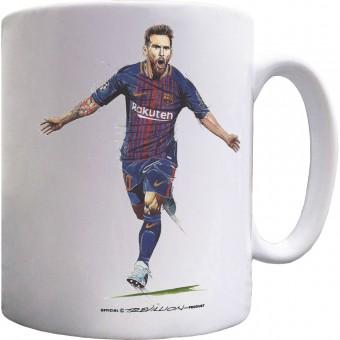 "Lionel Messi ""The Record Breaker"" Ceramic Mug"