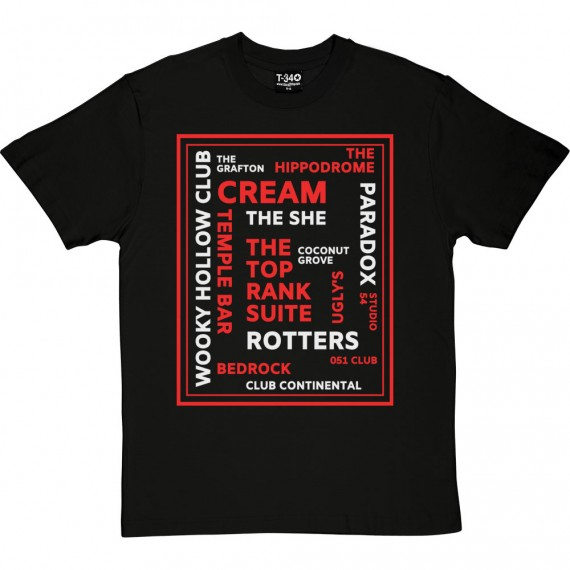 Liverpool Nightclubs T-Shirt