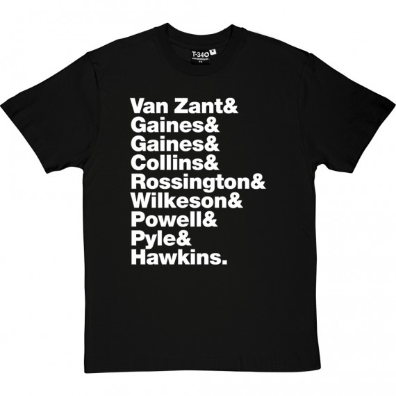 Lynyrd Skynyrd Line-Up T-Shirt