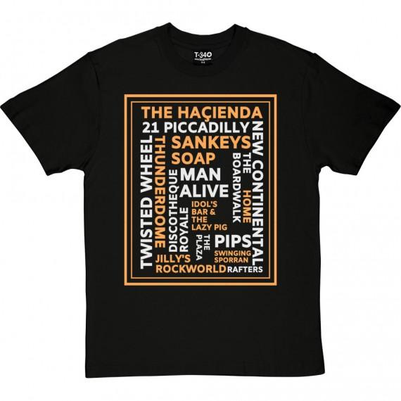 Manchester Nightclubs T-Shirt
