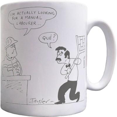 Manuel Labourer Mug