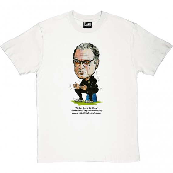 "Marcelo Bielsa ""Best Seat In The House"" T-Shirt"