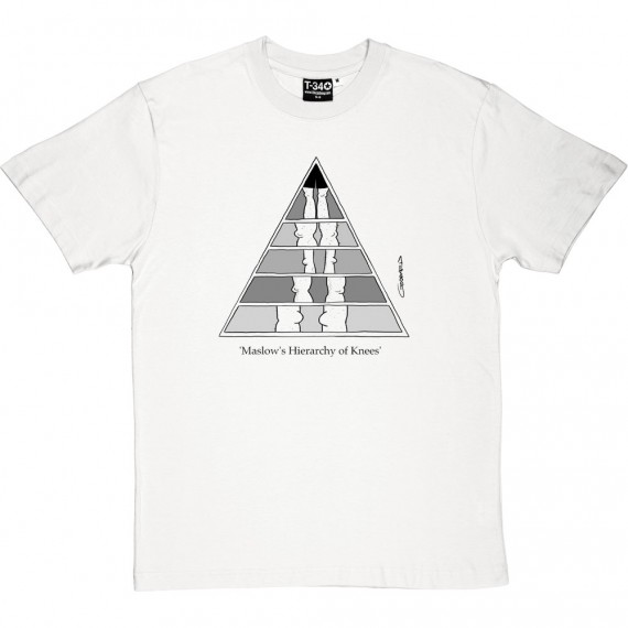 Maslow's Hierarchy of Knees T-Shirt