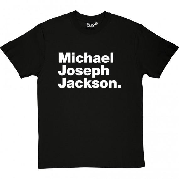 Michael Joseph Jackson T-Shirt
