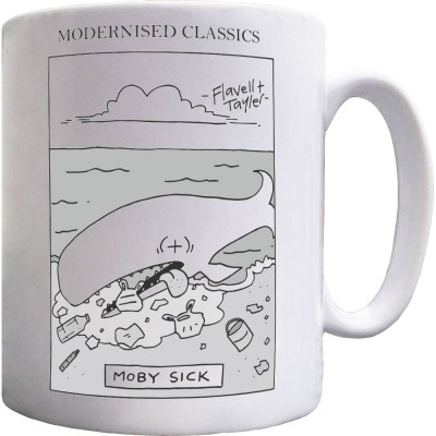 Modernised Classics: Moby Sick Mug