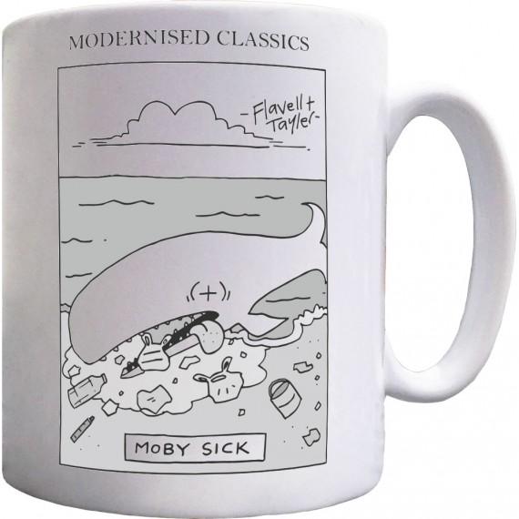 Modernised Classics: Moby Sick Mug