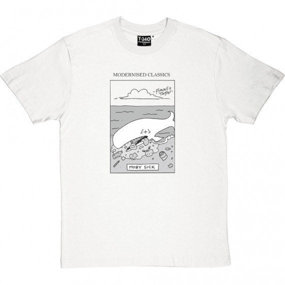 Modernised Classics: Moby Sick T-Shirt
