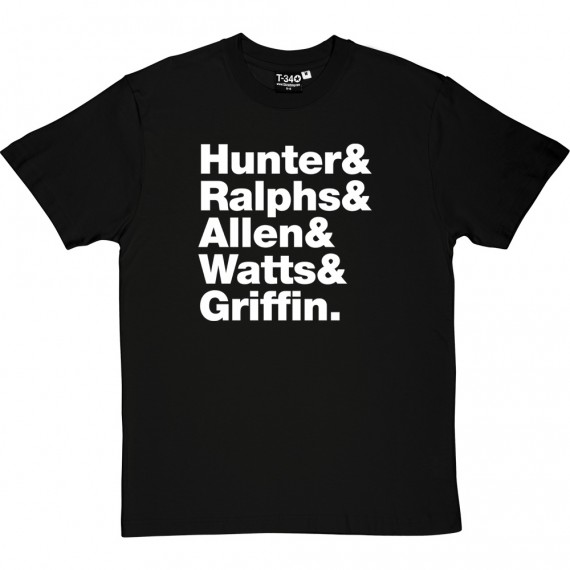 Mott the Hoople Line-Up T-Shirt