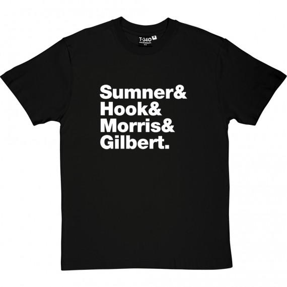 New Order Line-Up T-Shirt