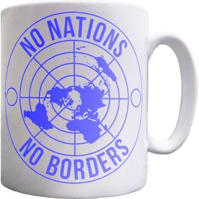 No Nations, No Borders Mug