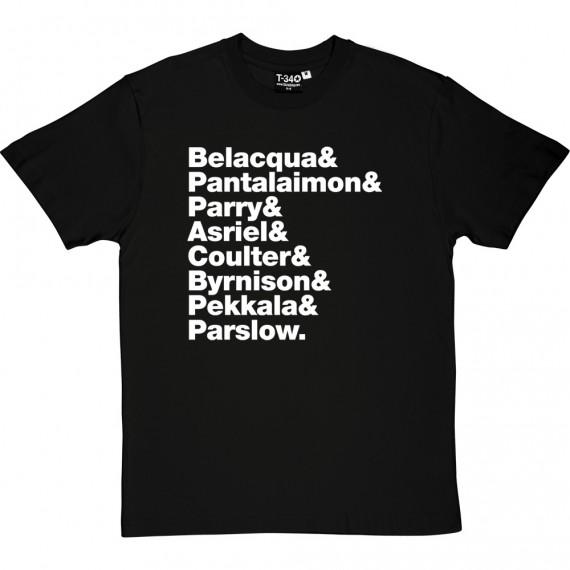 Northern Lights Line-Up T-Shirt