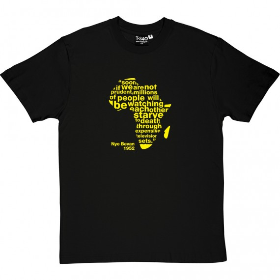 "Nye Bevan ""Expensive Television Sets"" Quote T-Shirt"