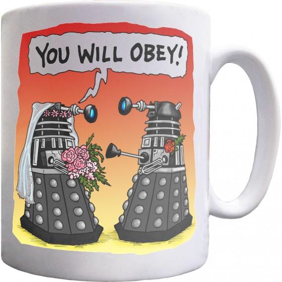 Obey (Bride) Mug