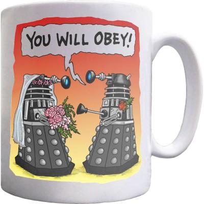 Obey (Groom) Mug