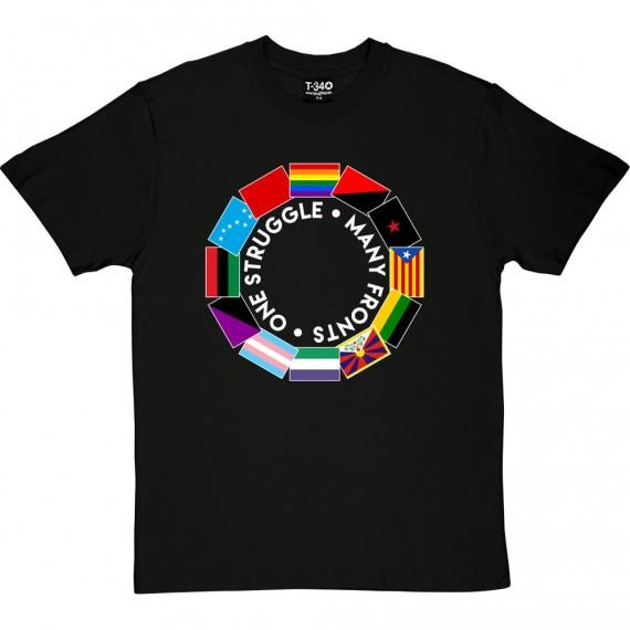 One Struggle: Many Fronts T-Shirt