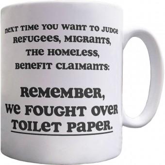 Next Time You Want to Judge Ceramic Mug