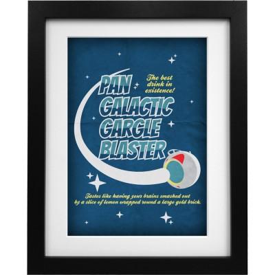 Pan Galactic Gargle Blaster (Logo) Art Print