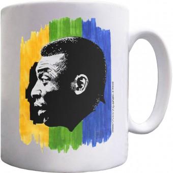 Pele: Brazilian Legend Ceramic Mug