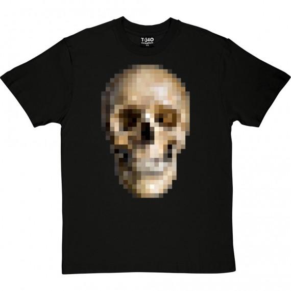Pixelated Skull T-Shirt