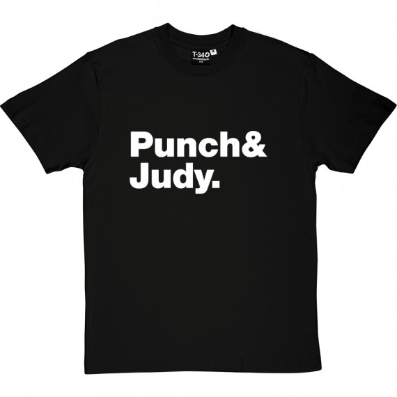 Punch and Judy Line-Up T-Shirt