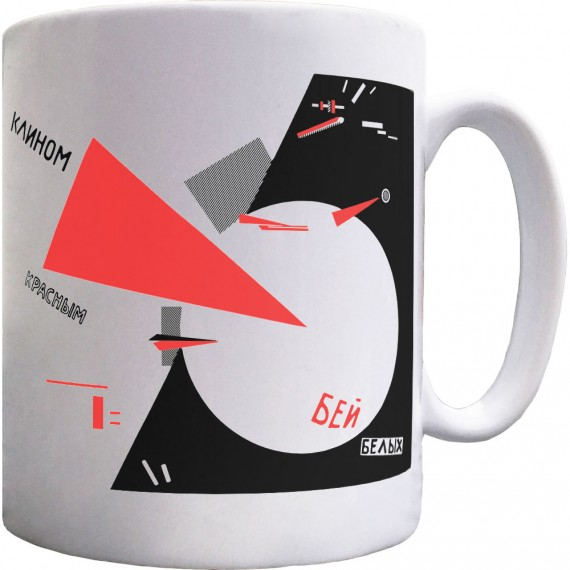 Beat The Whites With The Red Wedge Ceramic Mug