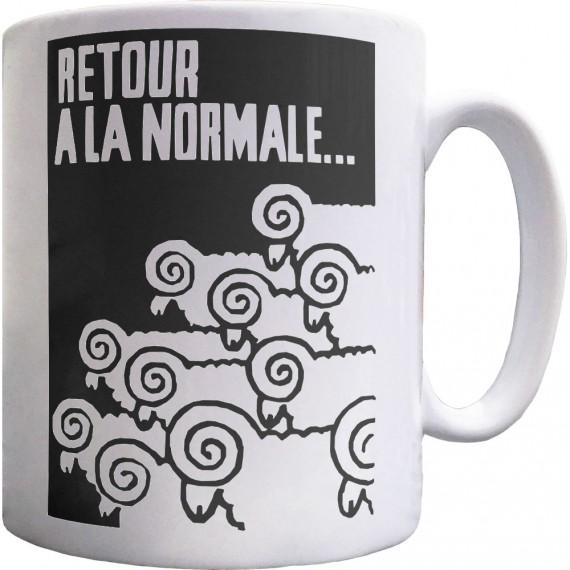 Retour A La Normale Ceramic Mug