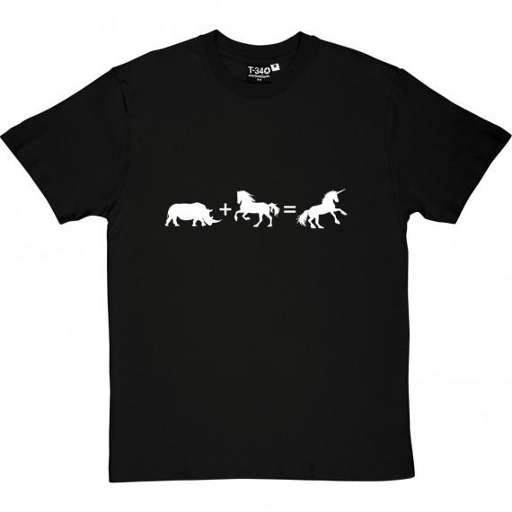 Rhino + Horse = Unicorn T-Shirt