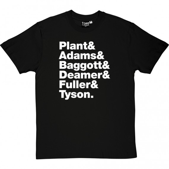 Robert Plant and the Strange Sensation Line-Up T-Shirt