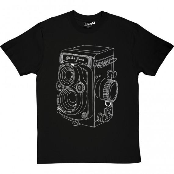 Vintage Rolleiflex Camera T-Shirt