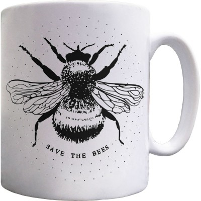 Save the Bees Ceramic Mug