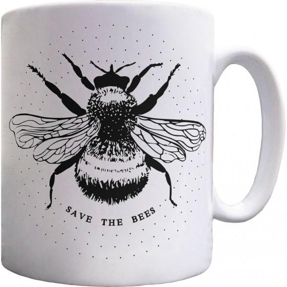 Save the Bees Ceramic Mug
