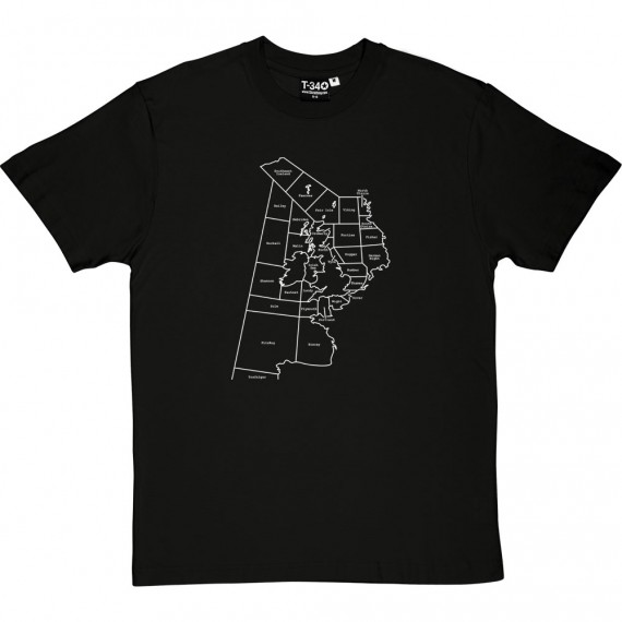 Shipping Forecast Areas T-Shirt