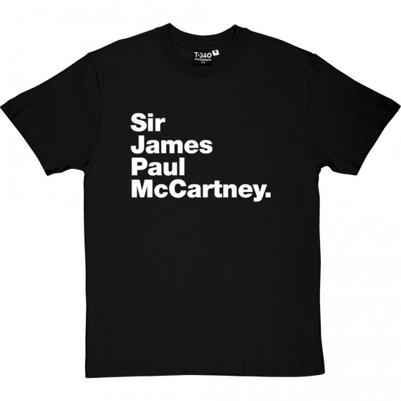 Sir James Paul McCartney T-Shirt