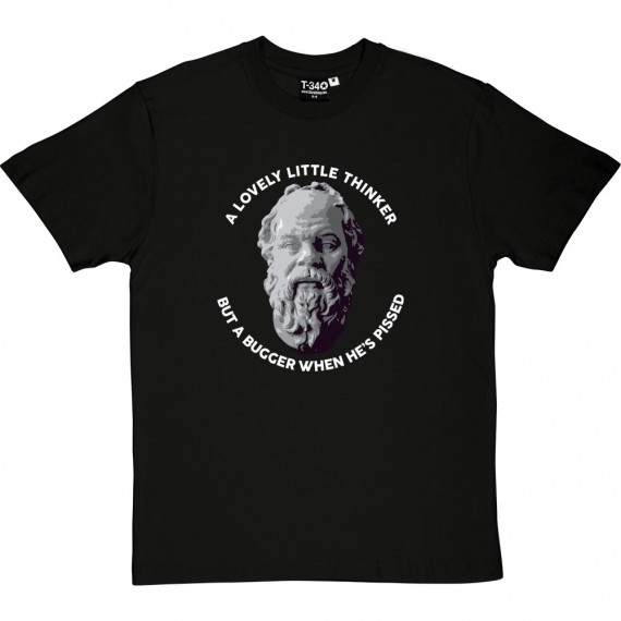 Socrates: A Lovely Little Thinker... T-Shirt