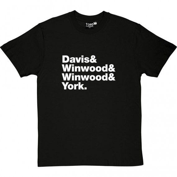 Spencer Davis Group Line-Up T-Shirt