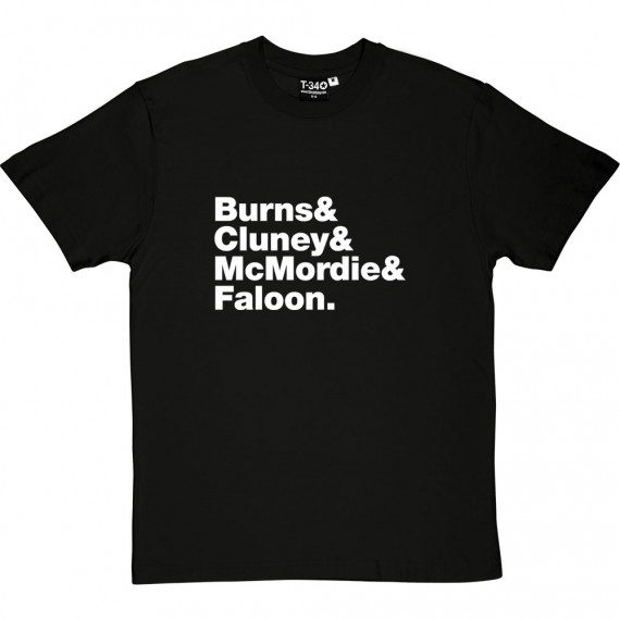 Stiff Little Fingers Line-Up T-Shirt