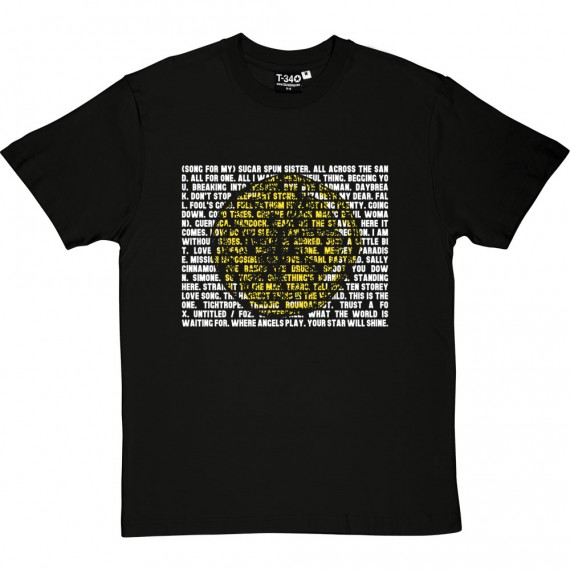 The Stone Roses Songs T-Shirt