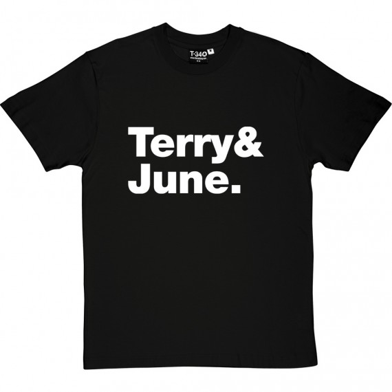 Terry and June Line-Up T-Shirt