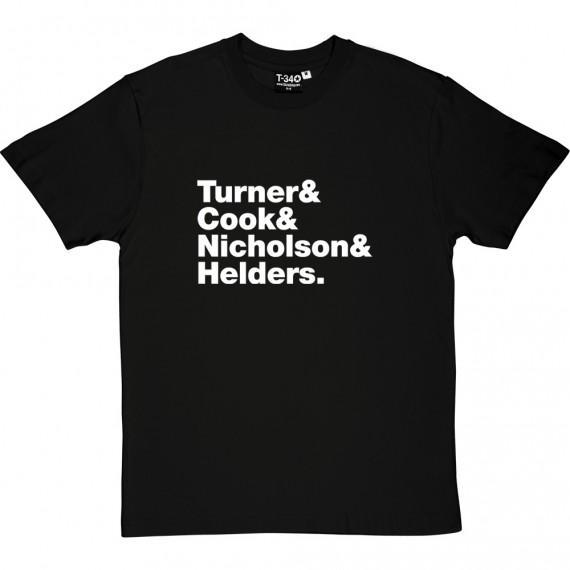 Arctic Monkeys Line-Up T-Shirt