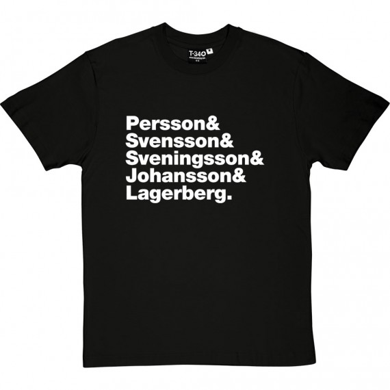 The Cardigans Line-Up T-Shirt