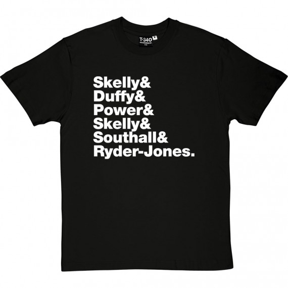 The Coral Line-Up T-Shirt