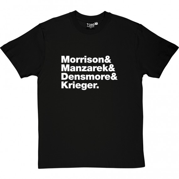 The Doors Line-Up T-Shirt