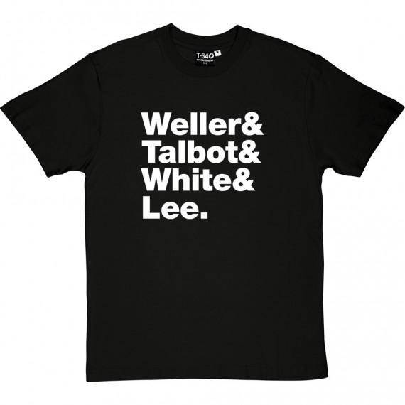 The Style Council Line-Up T-Shirt