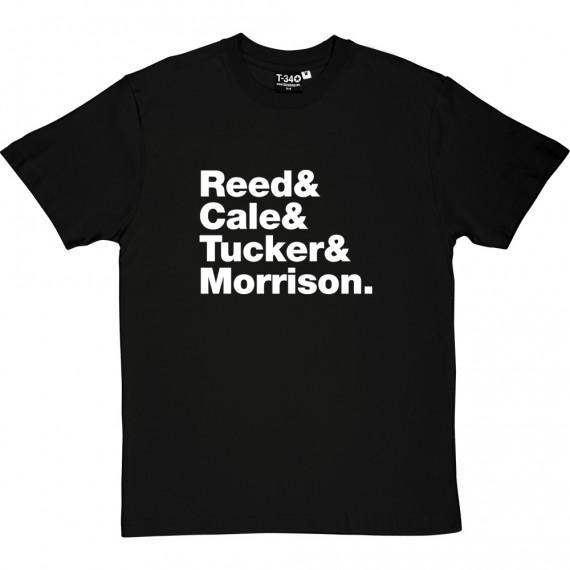 The Velvet Underground Line-Up T-Shirt