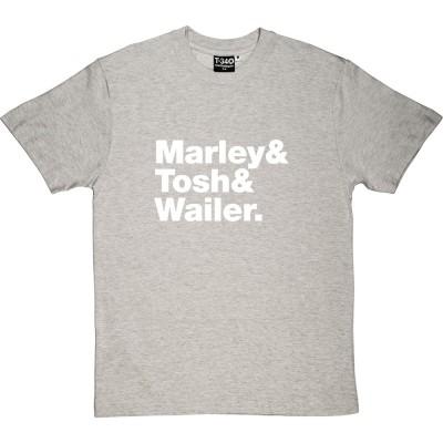 The Wailers Line-Up