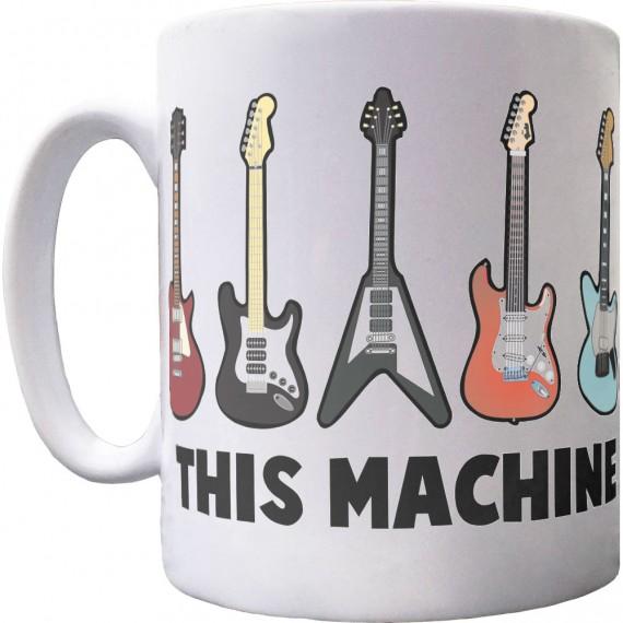 This Machine Kills Fascists (Guitars) Ceramic Mug