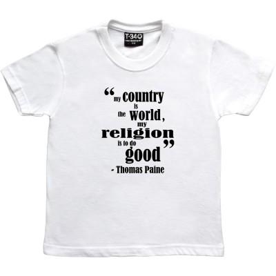 """Thomas Paine """"Religion"""""""