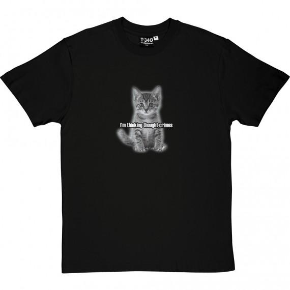 I'm Thinking Thought Crimes: Kitten T-Shirt