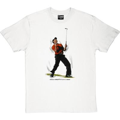 Tiger Woods Masters Celebration