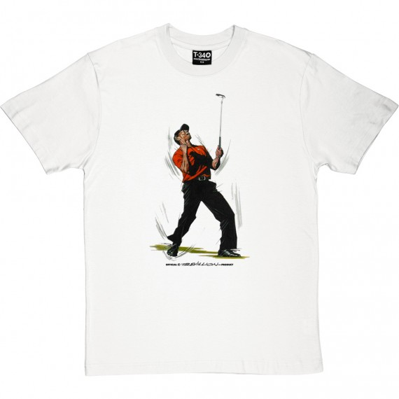 Tiger Woods Masters Celebration T-Shirt